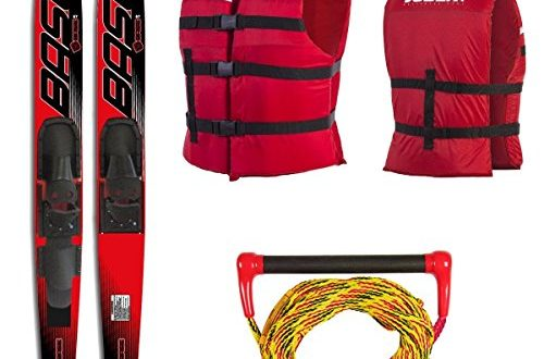"Base Sports Vapor Combo Ski Package Wasserski 67 170cm Rot 500x330 - Base Sports Vapor Combo Ski Package Wasserski 67"" 170cm (Rot)"
